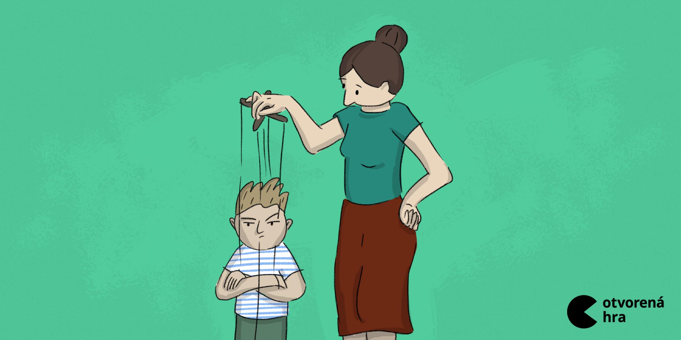 Manipulatívne techniky, ktoré používame na naše deti