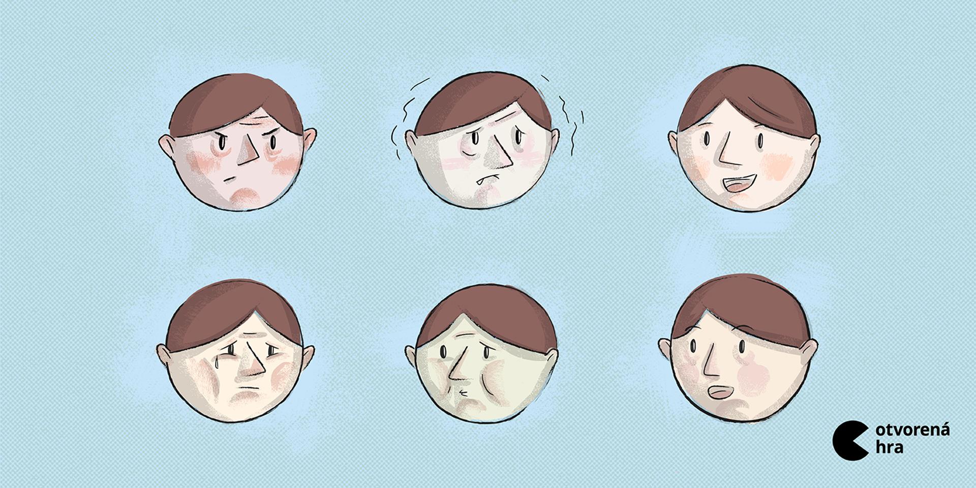Existujú emócie, ktoré vyjadrujeme všetci rovnako?